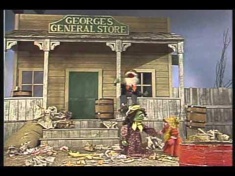 Classic Sesame Street Dirty Gulch HQ