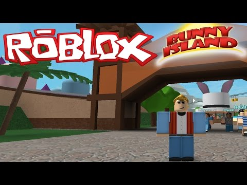 LET S GO TO THE THEMEPARK Roblox Bunny Island