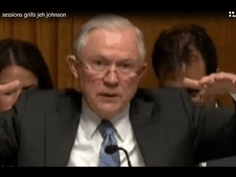 Jeff Sessions Shreds Jeh Johnson DHS Immigration Policy