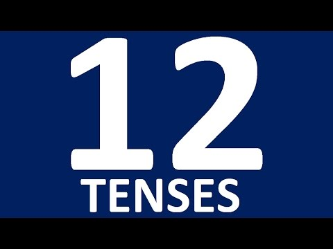 TENSES IN ENGLISH GRAMMAR WITH EXAMPLES. Enlish tenses. English grammar lessons intermediate - full