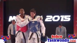 Aaron Cook (MDA) vs Lutalo Muhammad (GBR) Grand Prix Final México 2015