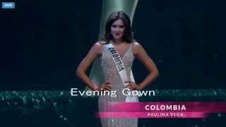 Paulina Vega Miss Colombia 2014 Preliminary Competition Miss Universe 2014 HD