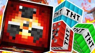 EPIC MODDED TNT WARS (NEW TNT TYPES - NUKE TNT, LAVA TNT, GRAVITY TNT) - MODDED Minigame