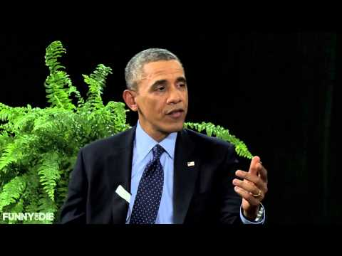 President Barack Obama Between Two Ferns with Zach Galifianakis