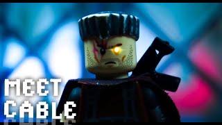 Deadpool 2 Trailer |Deadpool, Meet Cable| in LEGO