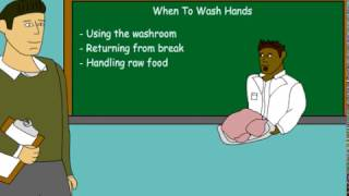 Worst hand washing Training Video EVER