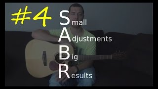 SABR #4 - How to start strumming with attitude! (The Bass/Treble technique)