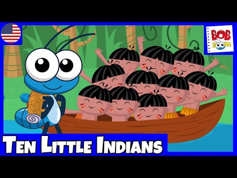 Ten Little Indians Bob Zoom Children s Music Video