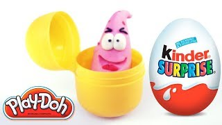 Cartoon stop motion special video unboxing Kinder surprise egg Funny for kids