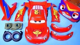 CARS Lightning McQueen Design & Drive Gear up toy 뽀로로 뚜뚜와 디즈니카 합체놀이 장난감