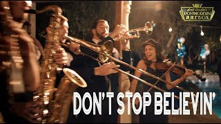 Don't Stop Believin' - Journey (ONE TAKE Vintage Postmodern Jukebox Cover)
