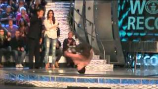 Bboy Jonas - 131 Headspins in 1 Minute - Guinness World Records- breakdance