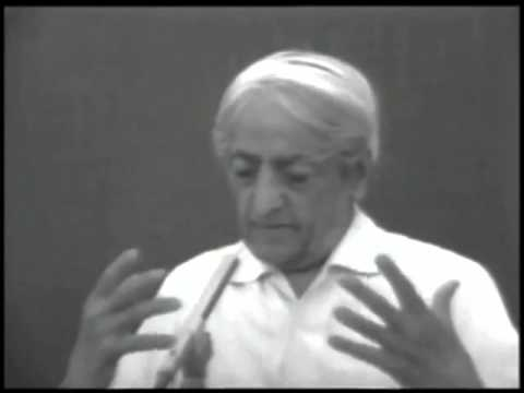 Jiddu Krishnamurti - Why has man, woman, made this sex business so important?
