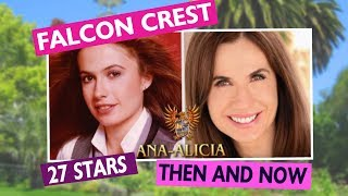 Falcon Crest Stars Then and Now