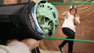 Food Dodgeball Challenge!!