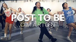 [ Master Class ] Omarion - POST TO BE ft. Chris Brown & Jhene Aiko / Choreography . PK WIN