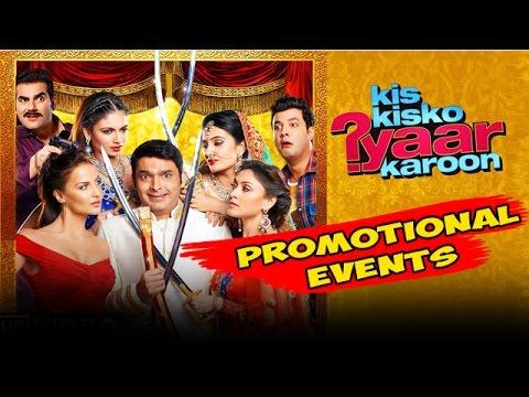 Kis Kis ko Pyaar Karu Full Movie (2015) Promotional Events | Kapil Sharma, Elli Avram, Arbaaz