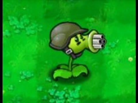 Guisantralladora Plantas contra Zombies