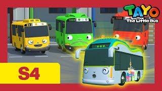 Tayo Español la Serie 4 l # 5 Gusto en conocerlo, Peanut! l Tayo el pequeño Autobús