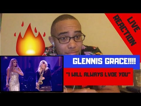 Glennis Grace - I Will Always Love You Ft. Candy Dulfer REACTION