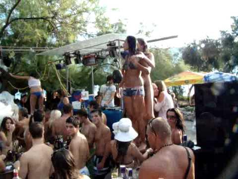 People s Herceg Novi 2010 pjena party 2