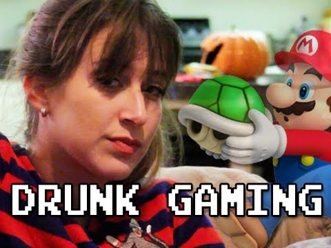 Drunk Gaming Super Mario Bros