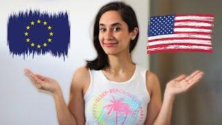 ۵ تفاوت جالب و خنده دار آمریکا با اروپا!!