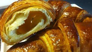 Croissant   الكرواسون الطريقة الاصلية الفرنسية %100