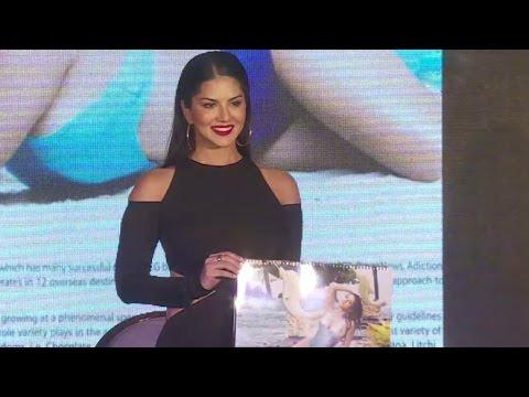 Xxx Mp4 UNCUT Sunny Leone Manforce Condom Calendar 2016 Launch 3gp Sex