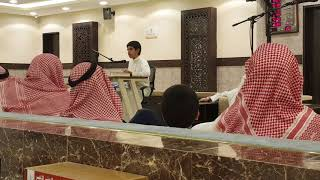 خطبة احمد عن بدعة المولد النبوي بجامع الابرار بحي قرطبه بالرياض