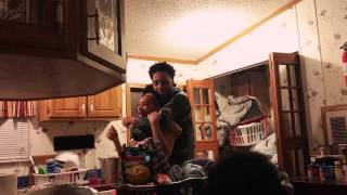 Little Brother Fights Big Sister Over Laundry