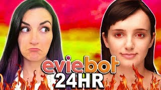 24 HOUR Eviebot Controls My Life Challenge