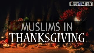 Muslims In Thanksgiving