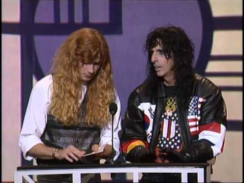 Aerosmith Wins Heavy Metal/Hard Rock Artist - AMA 1991