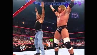 DX REUNITED AT 2006 WWE RAW HHH & HBK REUNION