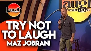 Try Not to Laugh | Maz Jobrani | Laugh Factory Stand Up Comedy