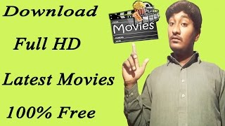 How To Download Full HD Latest Movies No Torrent In Urdu/Hindi