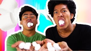 NASTY Marshmallow Roulette CHALLENGE!!!!!!!