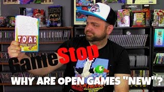 """GameStop: Why Are Open Games """"New""""?   RGT 85"""