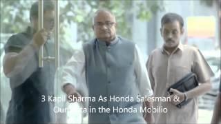 Honda Mobilio Kapil Sharma Advertisement ( Collection Of 4 Ads)