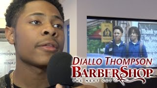 BarberShop 3 The Next Cut - Diallo Thompson Interview