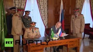 Russia: Saudi Arabia and Russia sign military regulation agreement