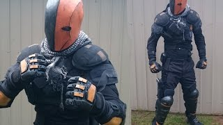 How to Make a STRONG Deathstroke Cosplay: Part 2