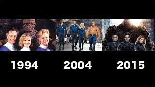 Fantastic Four Transformation Movie [1994 - 2004 -2015]