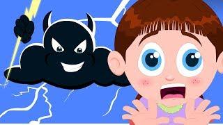 Thunder Lightning | Schoolies Cartoons And Songs For Children