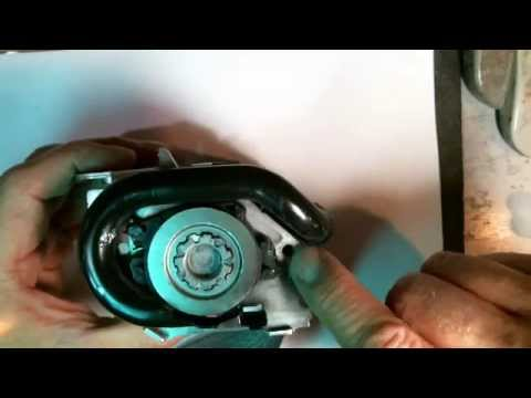 Airbag Systems How to repair a seatbelt pretensioner Black Tube