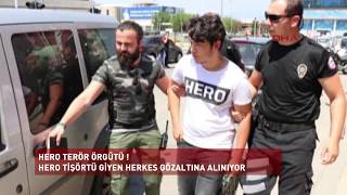 Haber   HERO Terör Örgütü: Tişörtlerden terör örgütü icad edildi