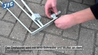 Montage Video JFC Auslauf Gitter