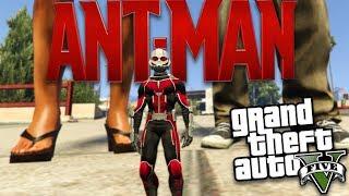 GTA 5 Mods - MARVEL'S ANT-MAN MOD (GTA 5 Mods Gameplay)