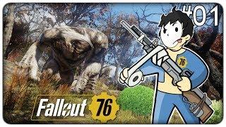 IL MOSTRO GIGANTE E LA FINE DI GARDALAND | Fallout 76 - ep. 01 [ITA]